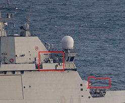 Uzbrojony hiszpański okręt przegania Brytyjczyków z Gibraltaru