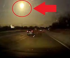 Spektakularny wybuch meteorytu tuż nad Ziemią. Wszystko nagrała kamera