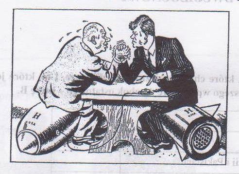 Nikita Chruszczow i John F. Kennedy. Atomowa wojna wisiała na włosku...