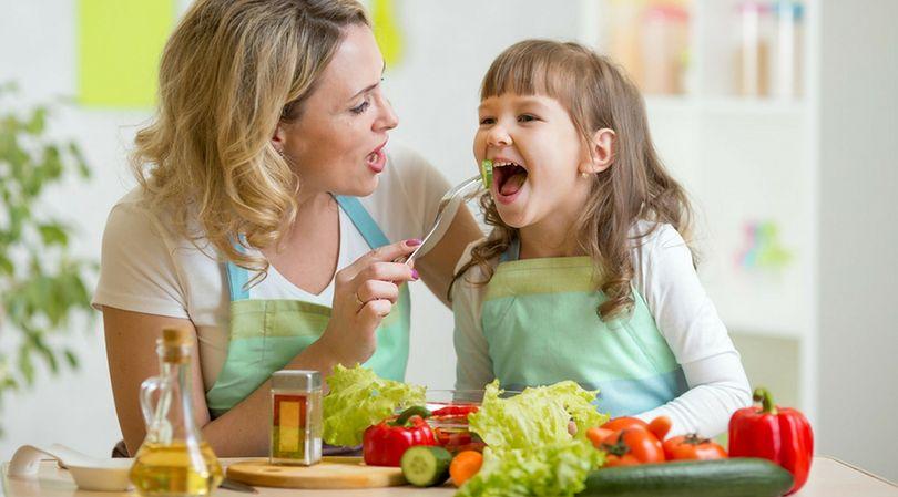 Sposób podania warzyw, ma duży wpływ na chęci dzieci do ich zjedzenia