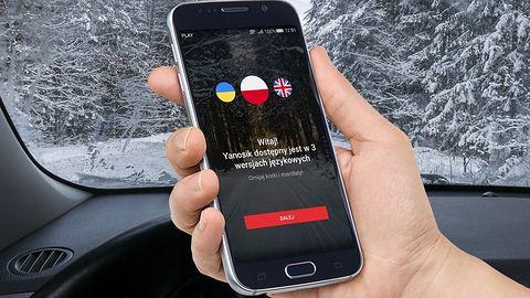 Yanosik dostępny po ukraińsku: praca wielu kierowców Ubera właśnie stała się prostsza
