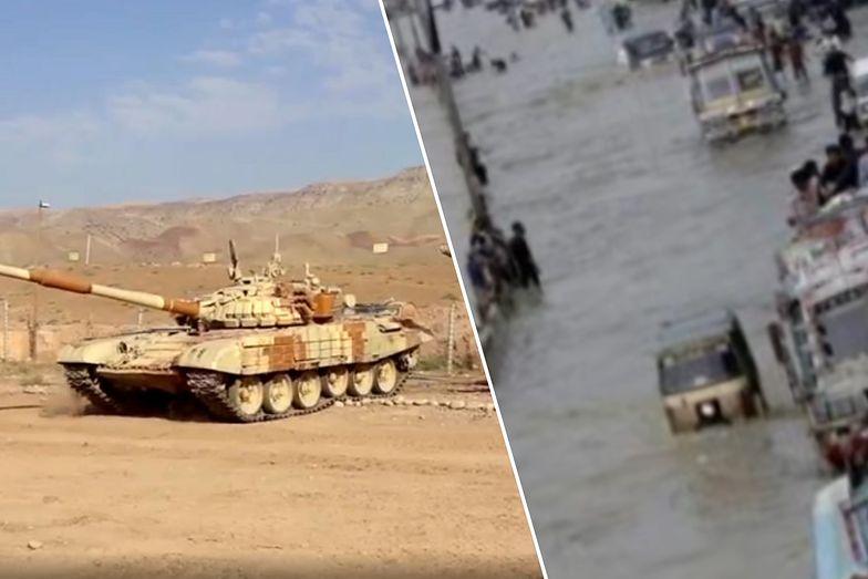 Dramat w Afganistanie spowitym konfliktem. Powódź. Nie żyje 40 osób