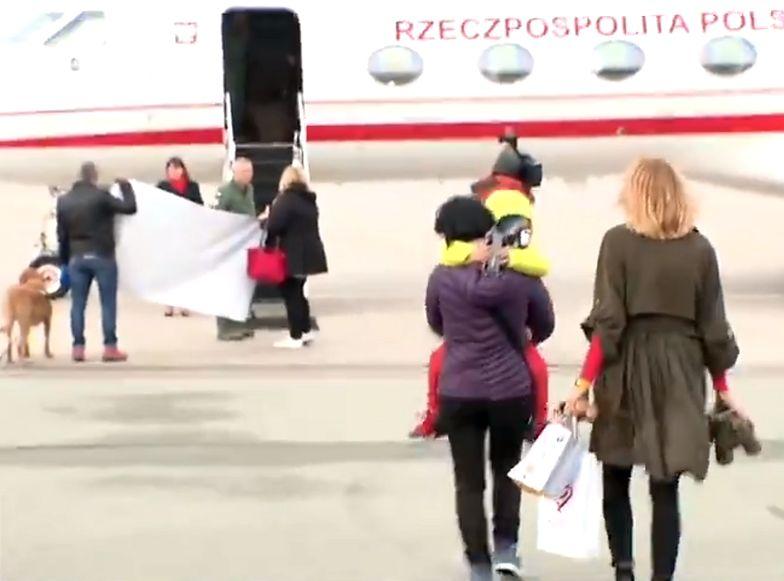 6-letni Filip poleciał do Bostonu rządowym samolotem Gulfstream G550.