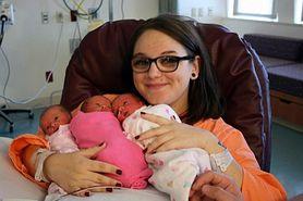 Jednojajowe trojaczki - taka historia zdarza się raz na milion ciąż