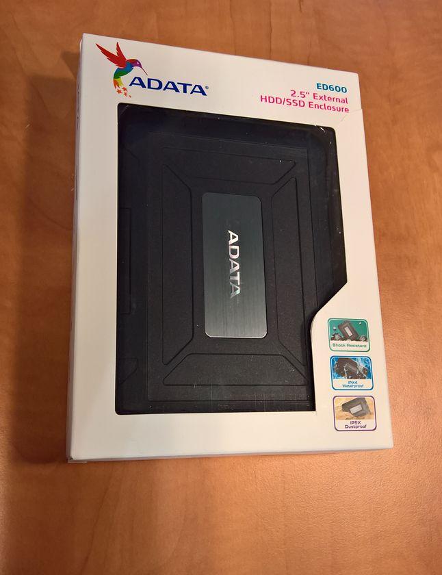 Skromne pudełko dla ED600 USB3.1
