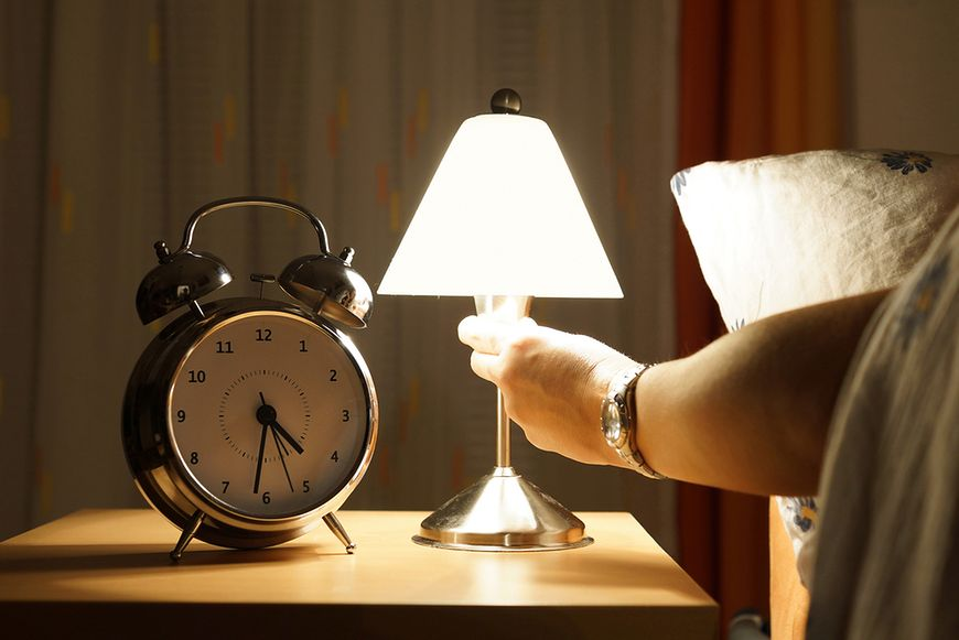 Wyłącz światło przed snem