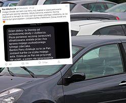 Obcierka na parkingu w Warszawie. SMS od kobiety podbija internet