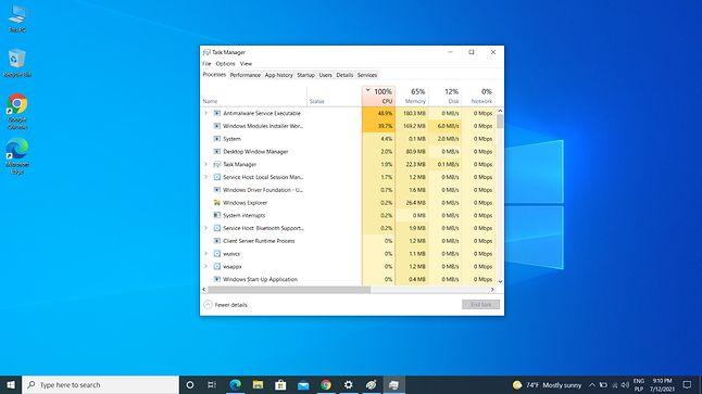 trwa aktualizacja i wstępna konfiguracja Windows 10