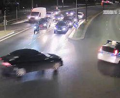Kierowca audi pędził na złamanie karku. Na tylnym siedzeniu mdlało mu dziecko