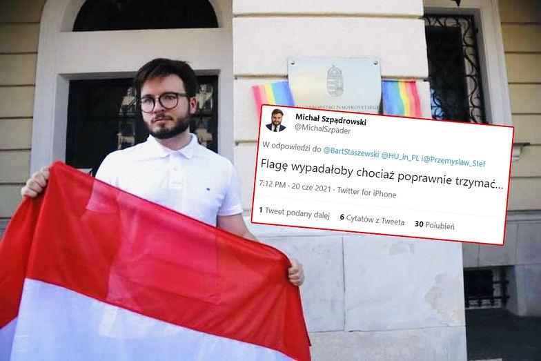 """""""PiS-owiec chciał mnie zaorać. Nie wyszło"""". Aktywista LGBT pokazał zdjęcie"""