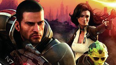 Okładka Mass Effect 2 jest jakaś taka...