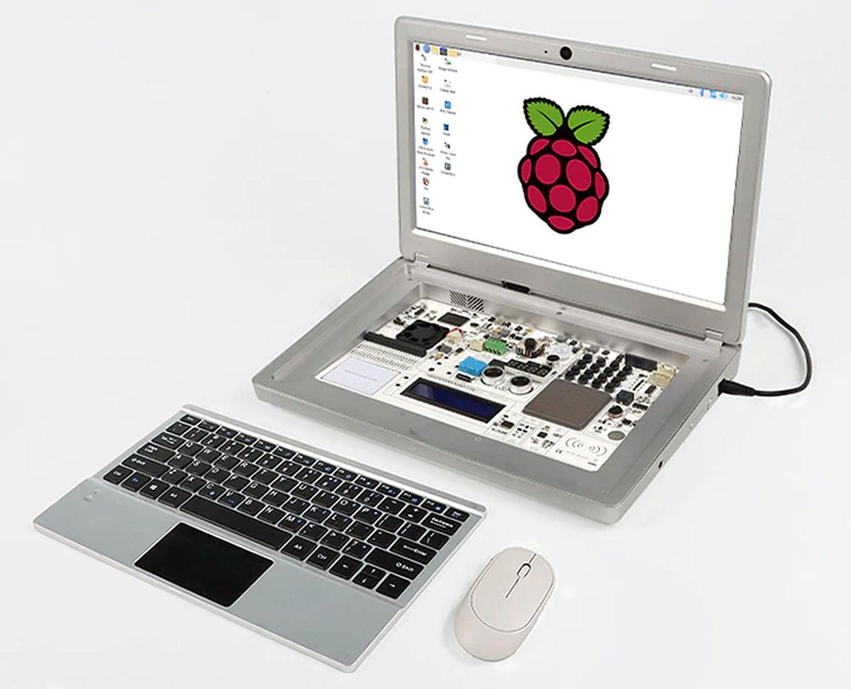 CrowPi2 - Raspberry Pi Laptop i platforma edukacyjna STEM w jednym