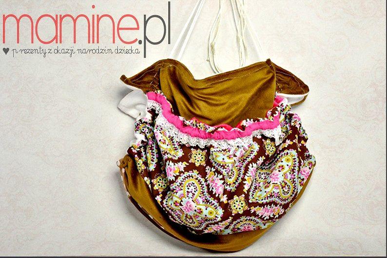 Kolorowa torba dla dziewczynki