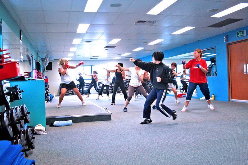 Trenig cardio na sali fitness