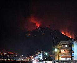 Grecja. Pożar niedaleko Aten. Z Loutraki ewakuowano 50 osób