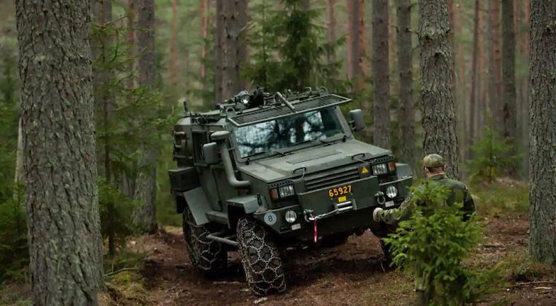 Szwecja. Armii skradziono dwa pojazdy opancerzone
