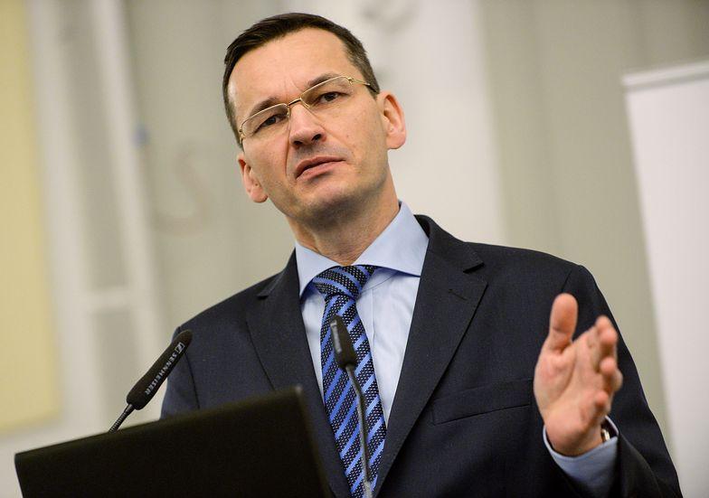Minister Mateusz Morawiecki.