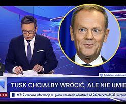 """Cztery dni """"für Deutschland"""" w """"Wiadomościach"""". Fiksacja TVP na temat Tuska"""