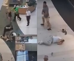 Warszawa. Nagrali atak nożownika w galerii handlowej. Kim są uczestnicy awantury?