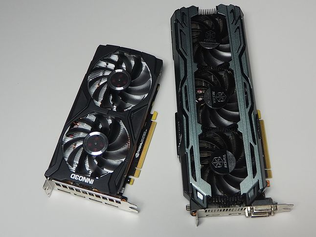 GTX 1660 i GTX 1060.
