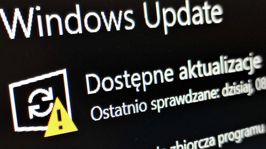 Windows 10 i felerne aktualizacje, fot. Oskar Ziomek