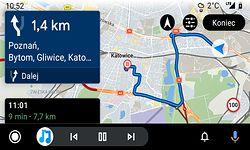 Sygic w Android Auto: konkurent Map Google i Waze z masą niedociągnięć (opinia)