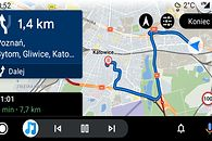 Sygic w Android Auto: konkurent Map Google i Waze z masą niedociągnięć (opinia) - Sygic działa już w Androidzie Auto, fot. Oskar Ziomek