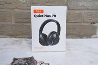 Słuchawki Tribit QuietPlus 78, muzyka zostaje, a hałas milknie