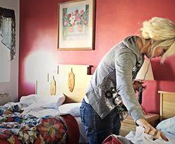 Pokojówka ścieliła łóżko. Rozpłakała się, gdy odkryła, co jest pod prześcieradłem