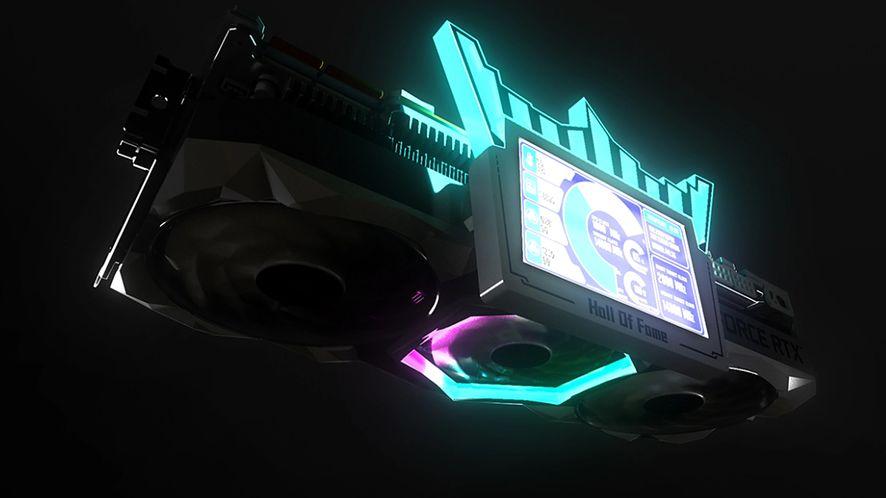 GALAX GeForce RTX 3090 HOF–piękna i potężna karta graficzna z dodatkowym ekranem
