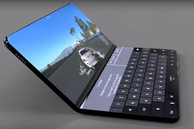 koncepcyjny render Huawei Mate X z maja 2018, blog.awok.com