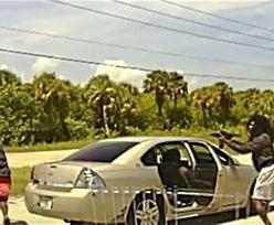 Makabra podczas rutynowej kontroli drogowej. Padło 61 strzałów