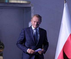 Szczecin. Donald Tusk wywołał szał. Na konferencji uderzono kobietę