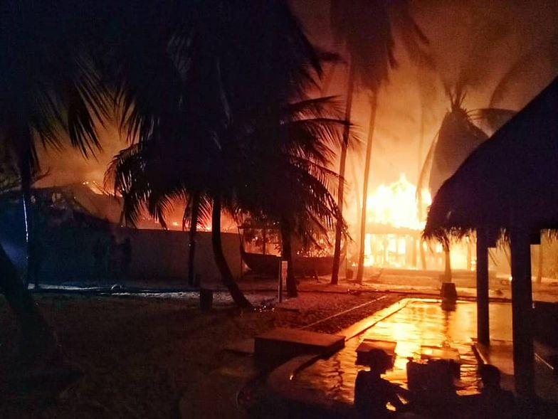Pożar w raju. Kurort na Malediwach w płomieniach