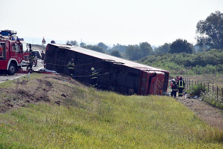 Chorwacja. Tragiczny wypadek autobusu. Nie żyje co najmniej 10 osób