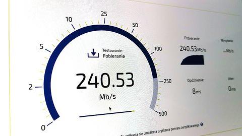 Ranking operatorów Speed Test. Najszybszy internet dają Inea i Play