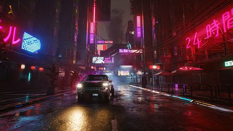 Cyberpunk 2077 i ray tracing na kartach AMD. Jednym słowem: dramat