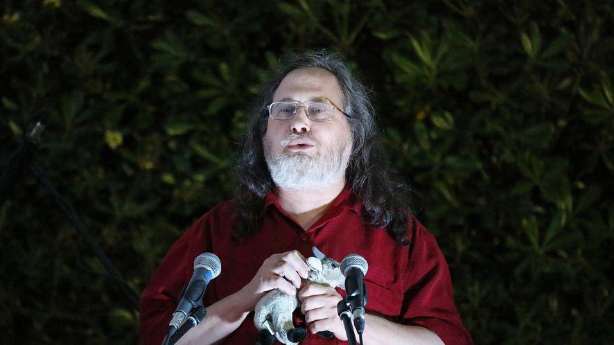 Richard Stallman (Michael Debets/Pacific Press/LightRocket/Getty Images)