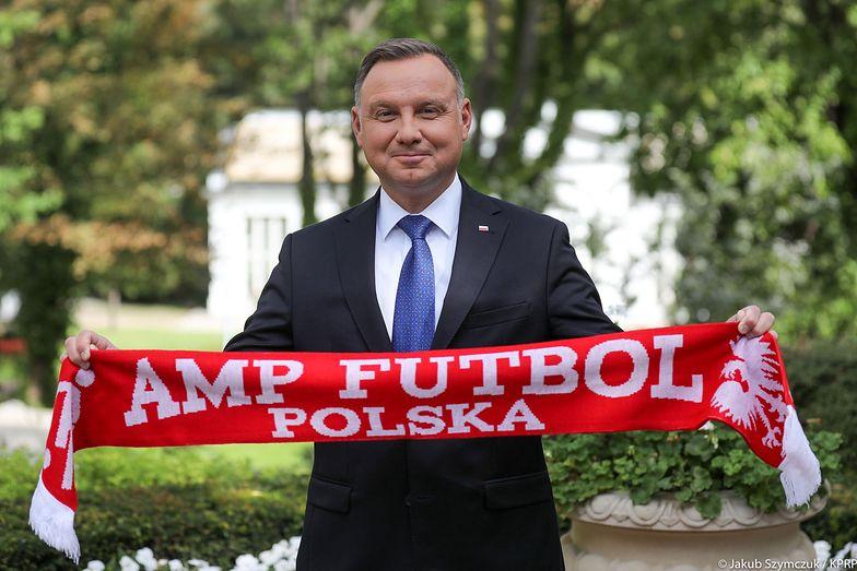 Polacy rozgromili rywali 10:0. Kibicował im prezydent Andrzej Duda