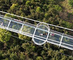 Najdłuższy szklany most na świecie. Pobito kolejny rekord