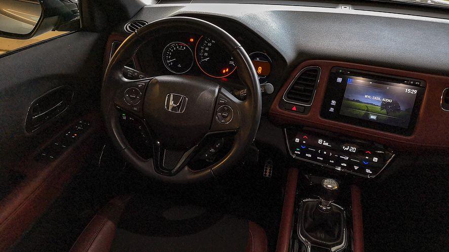 Honda HR-V nie imponuje nowoczesnością, ale odwdzięcza się solidnością i prostotą działania
