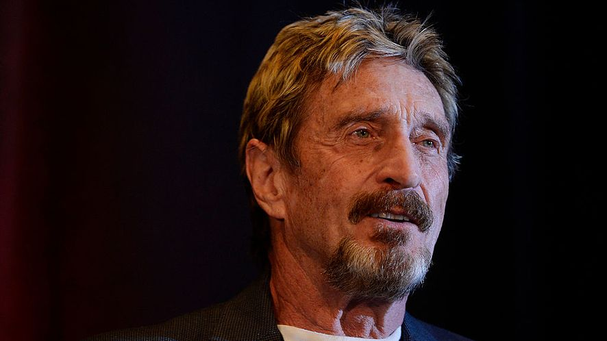 John McAfee /fot. GettyImages