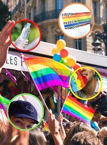 Parada Równości starter pack, czyli co zabrać na tęczowy marsz