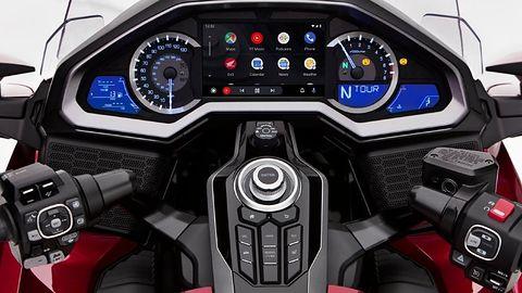 Honda Gold Wing pierwszym motocyklem z Android Auto