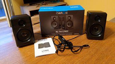 Natec Lynx 2.0 — tanie, mobilne głośniki w standardzie 2.0