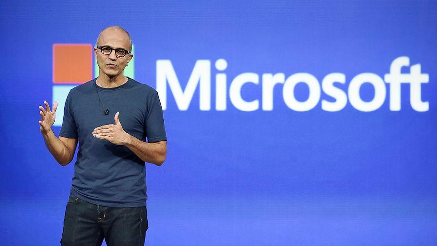 Satya Nadella, CEO Microsoft, fot. Justin Sullivan/Getty Images