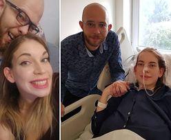 Ula w ciąży dowiedziała się o raku. Ślub odbył się dzień przed operacją