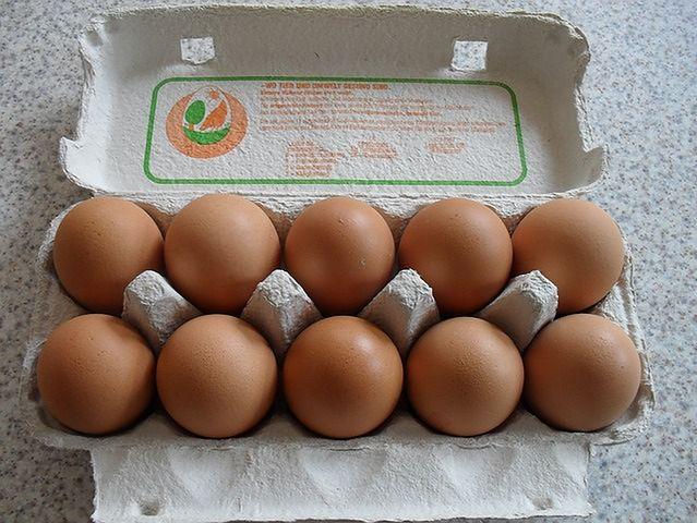 Jajka z farm ekologicznych