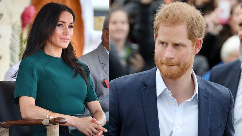 """Książę Harry zachowywał się dziwnie przed wyjazdem do Kanady? """"Było widać, że w jego małżeństwie coś jest nie tak"""""""