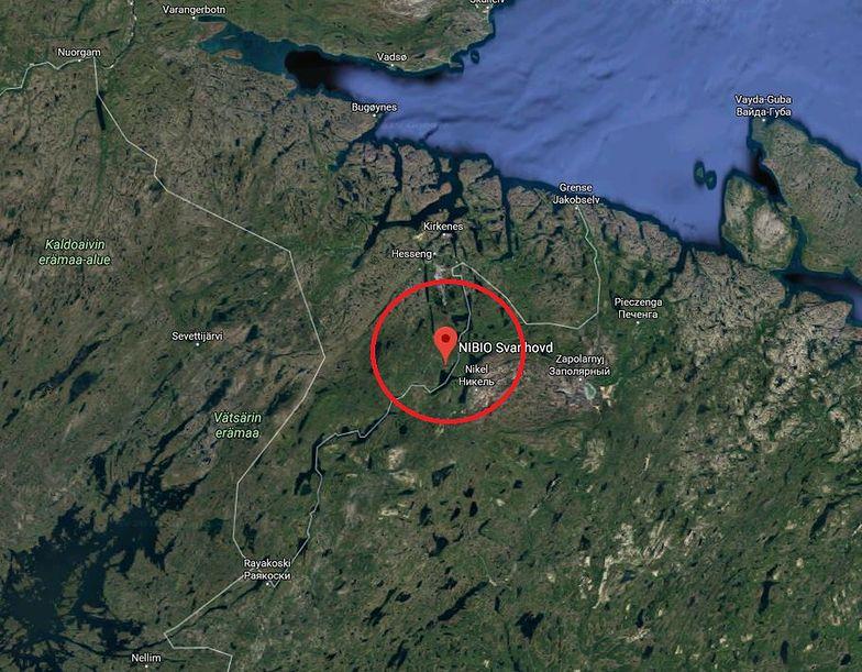 Norwegia: Promieniotwórczy kobalt-60 przy granicy z Rosją